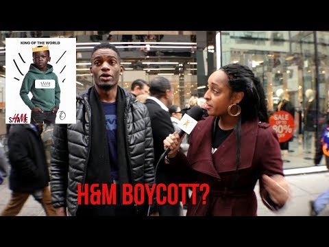 """Are black people actually going to boycott H&M? These folks say """"Yes."""""""