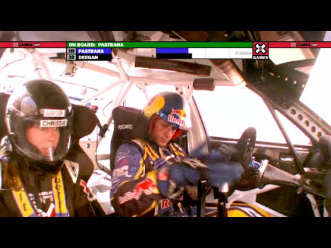 Travis Pastrana Crashes Out of Rally X Games 16