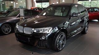"""Hello and welcome to BMW.view. In this video we review the interior and exterior of the 2017 BMW X3 xDrive30d Modell M Sport (F25). Produced in 4K. Facebook: https://www.facebook.com/pages/BMWview/860051290681663?ref=hlsubscribe -[BMW.view]- here: https://www.youtube.com/channel/UCuZoR8ZNgfPKBaPMPryyD1gMotor/engine: 190 KW/2993 ccmLackierung: Saphirschwarz metallicPolster: Leder ´Nevada´ Elfenbeinweiß/Applikation und PrägungFelgen: 20"""" M Leichtmetallräder Doppelspeiche 310Licht: Grundpreis:  EURPakete:  EURSonderausstattung:  EURÜberführungskosten:  EURZulassung inkl. Wunschkennzeichen:  EURGesamtpreis =  EURPakete: Modell M Sport, M Sportpaket, BusinessPackage i.V.m. Navigationspaket ConnectedDrive, Sonderausstattung"""