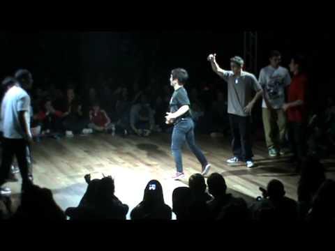 Hip Hop New school Battle 2012 semi final Predatorz vs Bboy World team( Justen/Pocket/Kid Colombia)