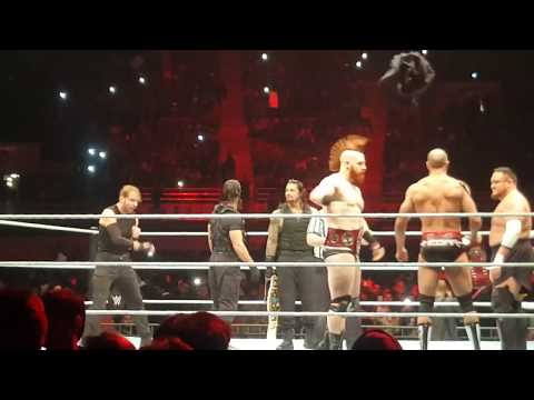 Varun Dhawan & The Shield In Action   WWE Live India New Delhi December 9, 2017
