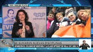 Presentación de las finales de los Juegos Nacionales Evita 2015