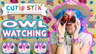 """Birds are some of the most amazing animals around! Trixie decorates her bird watching gear to go see some super cute owls in the wild with Mr. Owl!5 Things You Didn't Know About Owls!!!  Official Cutie StixFrom the makers of Orbeez and Pom Pom WowThe official YouTube channel of Cutie Stix""""Continuous Cuts, Countless Creations! Seriously Cute!""""1) Cut the stix to create beads. Use the CORING UNIT to core the beads.2) Create necklaces, bracelets, and more by using the threader.3) Show off your finished jewelry design. Be your own designer!From the makers of Orbeez and Pom Pom Wow by Maya ToysSUBSCRIBE:https://www.youtube.com/channel/UCHx4Hfo0-MpUEPRTflJjWLw?sub_confirmation=1Maya Toys 2016http://www.CutieStix.com"""