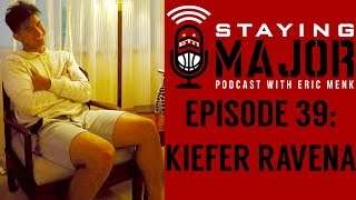 """""""The Phenom"""" Kiefer Ravena joins the 39th episode of Staying MAJOR. In this video clip of the show, Kiefer talks about growing..."""