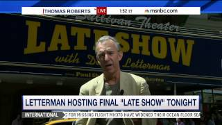 Jay Thomas on Letterman hosting final 'Late Show'