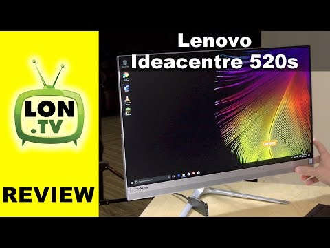 Lenovo Ideacentre 520s Review - Thin All in One PC that works as a monitor too
