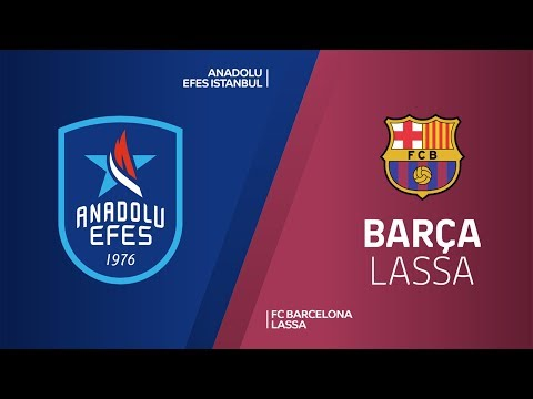 Anadolu Efes Istanbul - FC Barcelona Lassa Highlights | Turkish Airlines EuroLeague PO Game 5