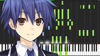 Trust in You - Date a Live II (Opening) [Piano Tutorial]