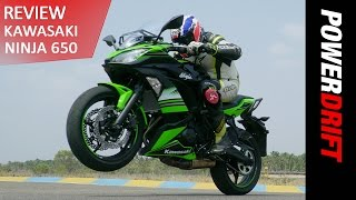 10. Kawasaki Ninja 650 (2017) - A Notch Higher : PowerDrift
