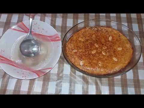 العرب اليوم - شاهد: طريقة إعداد صينية بسبوسة البطاطا بالمكسرات