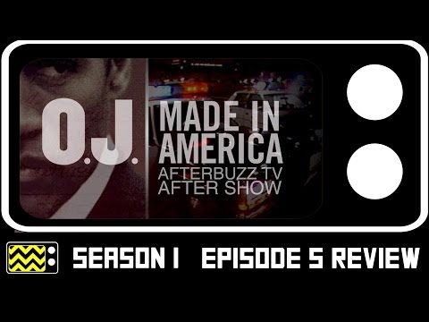 O.J. Made In America Season 1 Episodes 4 & 5 Review & After Show | AfterBuzz TV