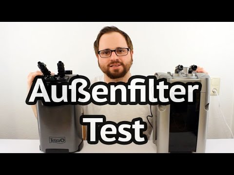 Aquarium Außenfilter Test - Tetra EX 800 Plus vs. JBL e901 greenline
