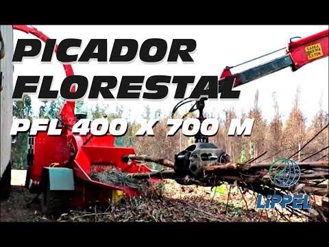 Picador de Madeira Florestal - PFL 400 x 700 M