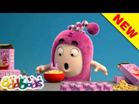 Hadiah Hujung Minggu Oddbods: Bijirin & TV   Oddbods   BAHARU   Kartun Lucu Untuk Kanak