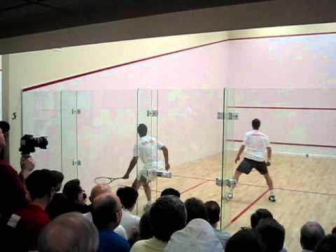 Shabana – Gaultier Squash Exhibiton Match #1