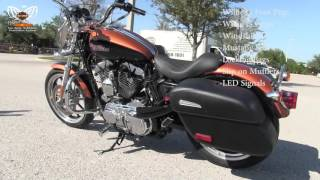 6. Used 2015 Harley Davidson XL1200T Sportster 1200 Low