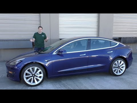 A closer look at Tesla Model 3