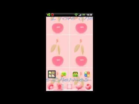 Video of Go Launcher EX Theme Cherries