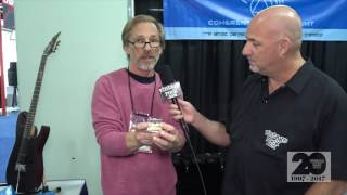 http://www.vintagerock.com - VintageRock.com's Junkman talks with Geoffrey McCabe (CSL Sophia Tremolos) at the 2017 NAMM Show on Sunday, January 22, 2017 in Anaheim, CA. Captured and edited by Mike Thoman.