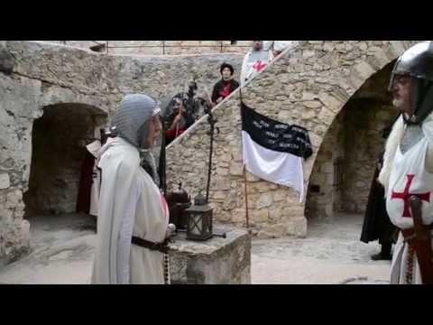 Les Blancs Chevaliers La Commanderie Templière de Biot 2016