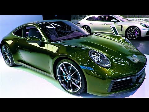 New - 2020 Porsche 911 Carrera 4s Super Sport - Interior And Exterior Full Hd 60fps 600h