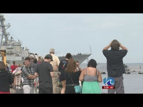 USS Ramage deploys for eight months