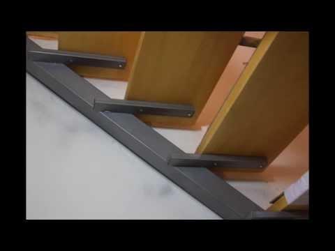 Как сделать лестницу из профильной трубы на второй этаж