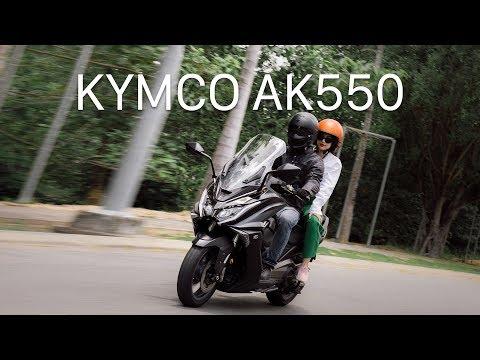 Kymco AK 550 - maxi scooter chính hãng giá 375 triệu đồng - Thời lượng: 6:00.