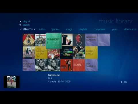 Media Centre Demo - Windows 7 RC