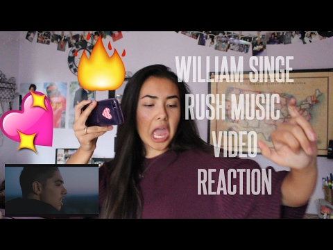 William Singe - Rush (Official Video) REACTION