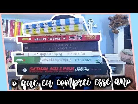 LIVROS QUE COMPREI EM 2017 | por Carol Sant