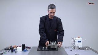 SLR lobulární čerpadlo - proces montáže chlazených mechanických ucpávek