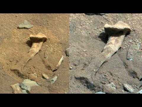 thigh - A baffling object on Mars that resembles an alien thigh bone is getting alien hunters and also conspiracy theorists all riled up, but what is it? ---------------------------------------------------...