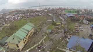 Super typhoon Yolanda / Haiyan Aftermath Tacloban City 9th November 2013 Breaking News Footage