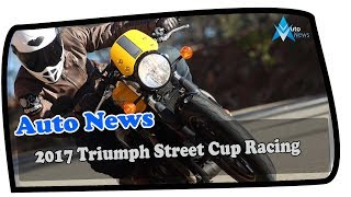 6. 2017 Triumph Street Cup Racing Yellow Silver Ice