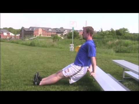 [Schulter] Straight Arm Dips, modifiziert – Trainingsvideo