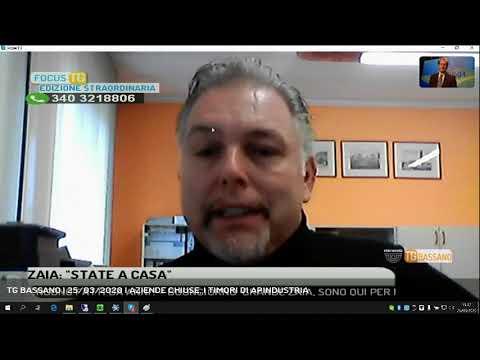 TG BASSANO | 25/03/2020 | AZIENDE CHIUSE, I TIMORI DI APINDUSTRIA