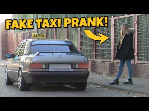 FAKE TAXI PRANK!