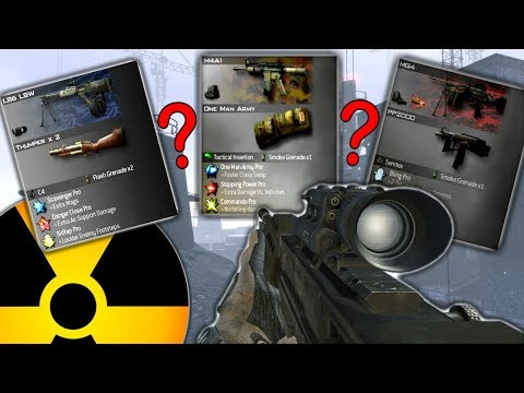 Random Class Generator Nuke Challenge In Mw2! (terrible Classes)