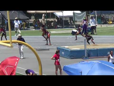 13-14 Girls 4X100 USATF So Cal JO's 6-10-2018