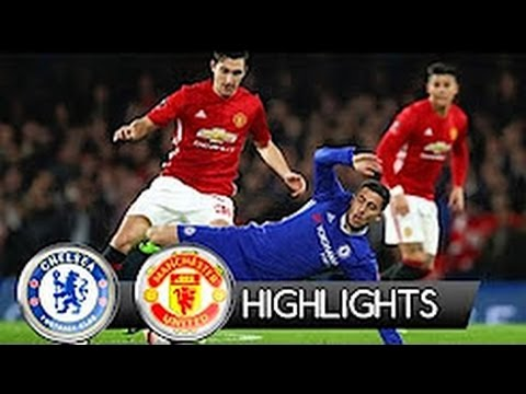 Chelsea vs Manchester United 1-0 All goals and Highlights   FA CUP 13.03.2017