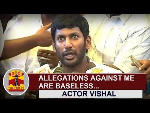 Allegations-against-me-are-baseless--Actor-Vishal-Nadigar-Sangam-General-Secretary