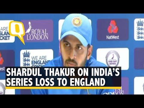 Shardul Thakur on India's Loss to England