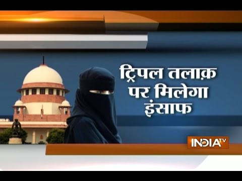 Video Triple talaq: SC bench consisting of 5 judges from 5 different faiths to begin hearing today download in MP3, 3GP, MP4, WEBM, AVI, FLV January 2017