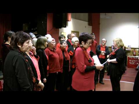 labour movement - Glenys Mulvany - a member of the Red Leicester Choir (http://redleicesterchoir.com/) - gives a brief history of the songs,