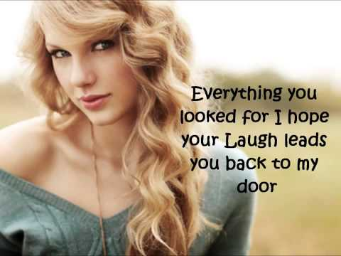 Taylor Swift _Stay Beautiful   Lyrics