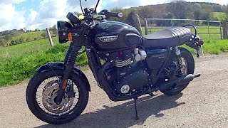 2. Triumph Bonneville T120 Review