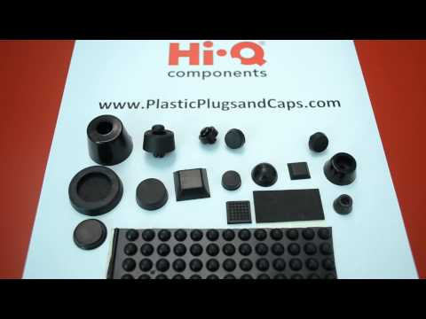 PVC Rubber Bumpers & Feet | Hi-Q Components