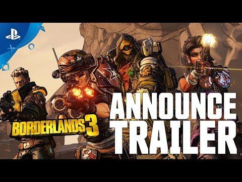 Borderlands 3 - Announce Trailer | PS4 - Thời lượng: 85 giây.
