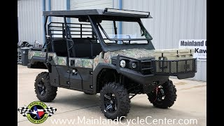 6. $22,299:  Custom Outfitted Kawasaki Mule Pro FXT EPS Camo Lifted and Loaded